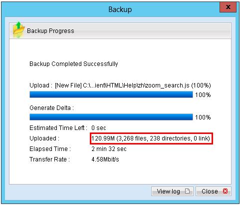 zBackup sao lưu Full backup lần đầu tiên