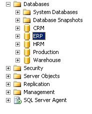 Database được phục hồi sau khi chạy lệnh RESTORE DATABASE