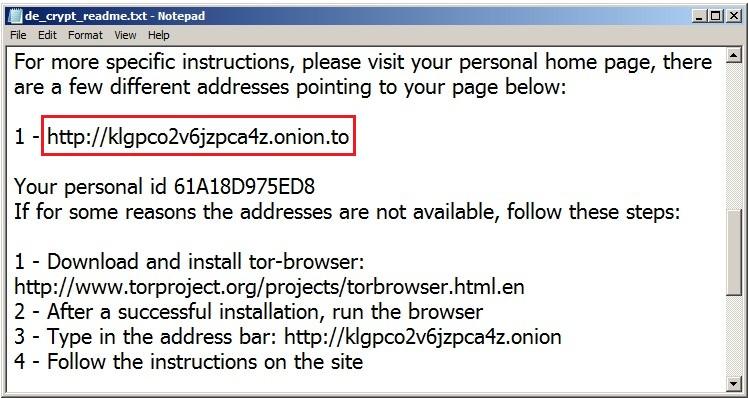 Ransomware CryptoWall giải mã miễn phí 1 file | zBackup vn