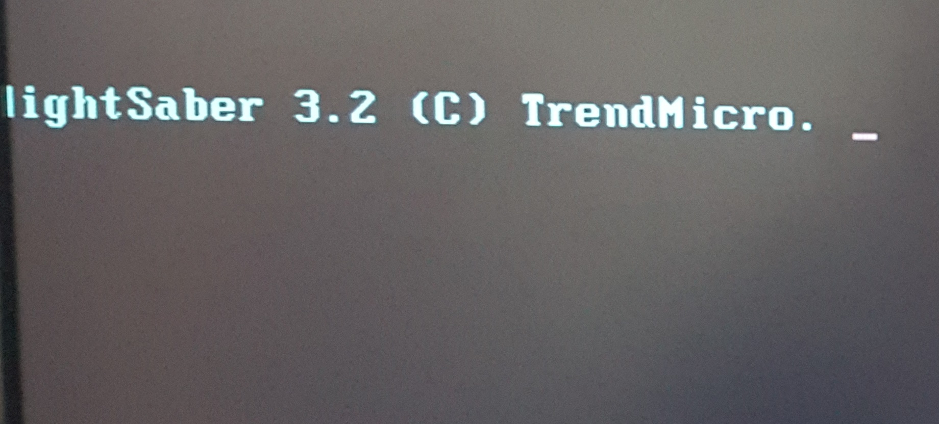 Boot từ USB chứa Trend Micro Ransomware Screen Unlocker Tool